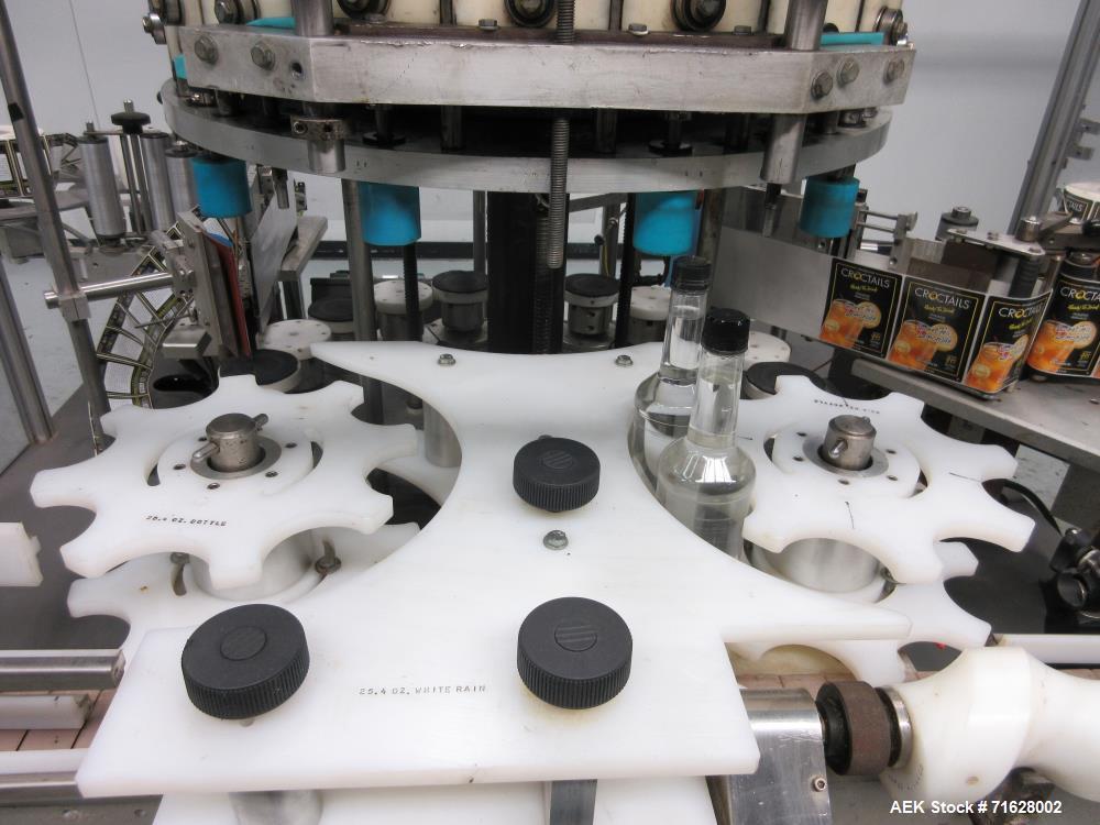 Used- Shorewood Model 5200R Front/Back/Neck Pressure Sensitive Labeler