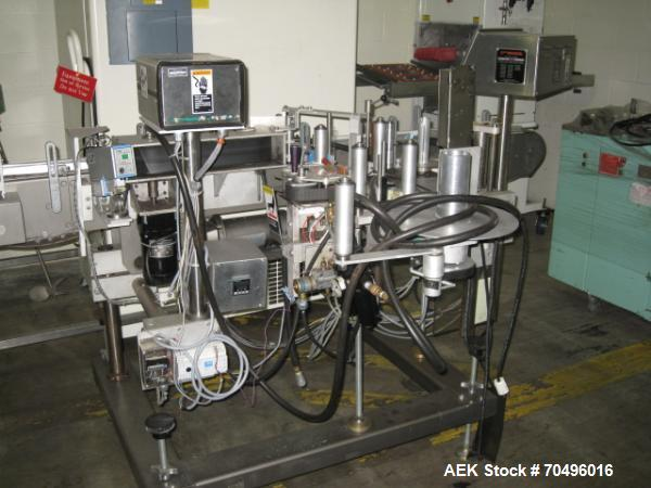 Used- New Jersey Machine Pressure Sensitive Labeler, Type AutoColt I, Model 326LWP-325