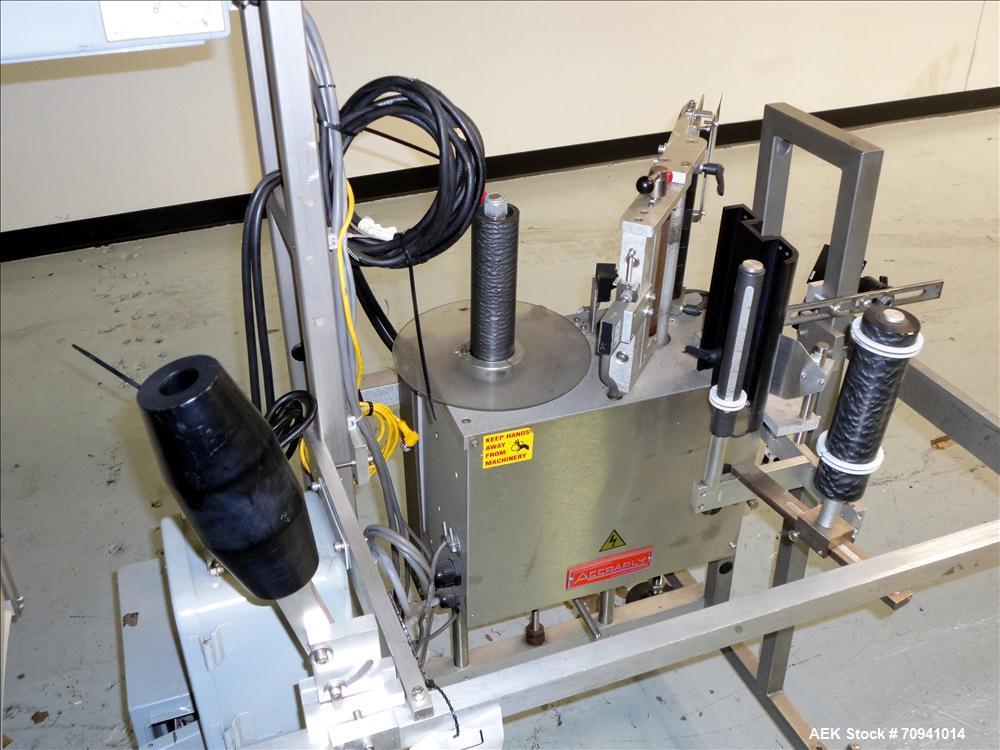 Used- Accraply Model 35FS Pressure Sensitive Labeler