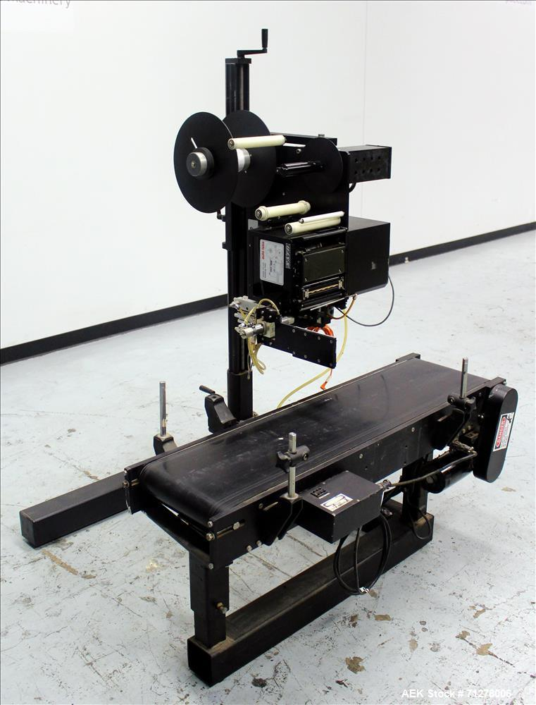 Used- Auto Labe Model 155-LH Automatic Print and Apply Labeler