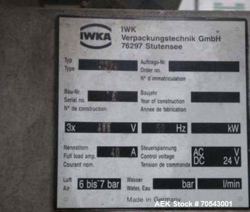 Used-IWKA TK63 Tube Coder