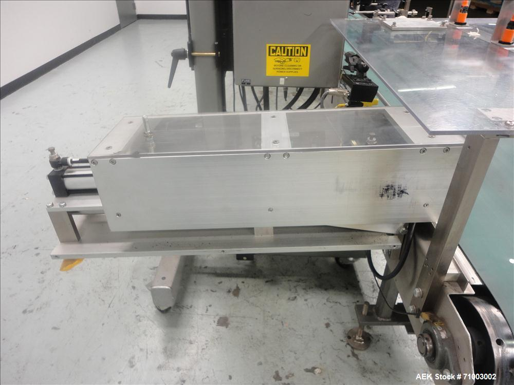 Used- Label-Aire Model 2140-RF Case Labeling System