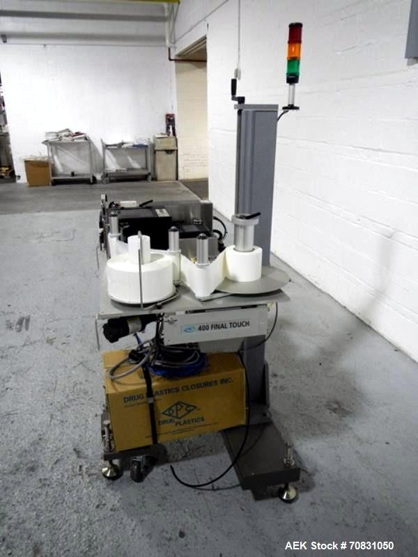 Used- New Jersey print and apply labeler, model 400R
