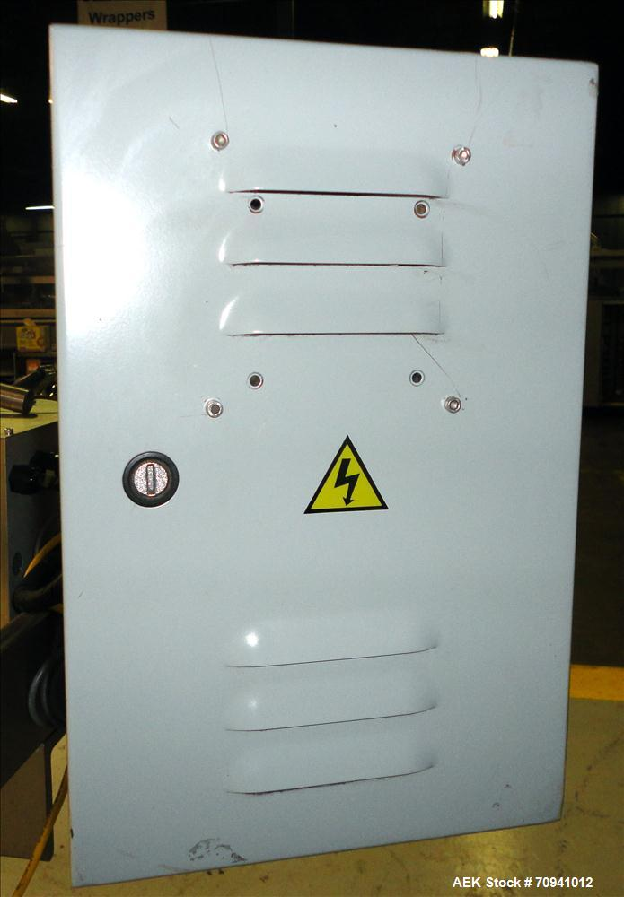 Used- Accraply Model 35PED Pressure Sensitive Labeler