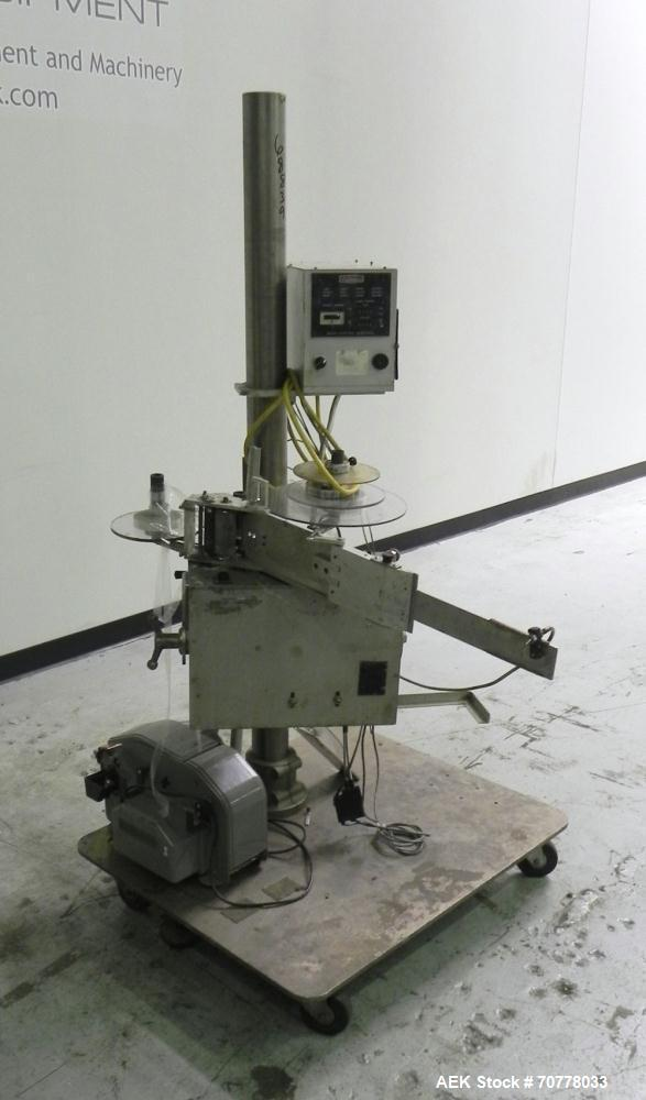 Used- Accraply Model IM-50 Pressure Sensitive Spot Labeler