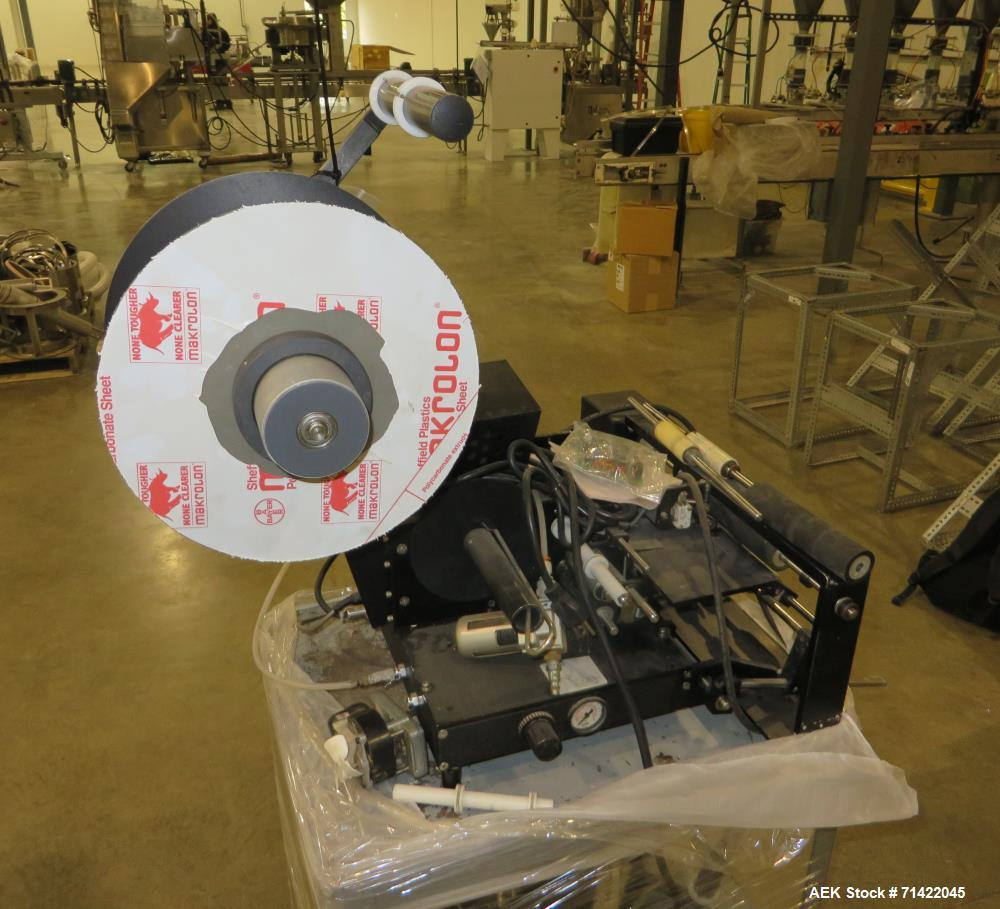 Used- Auto Labe Model 550 Pressure Sensitive Spot Labeler