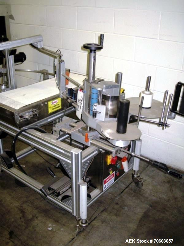 Used- Automatix Case Labeler with Herma Printer