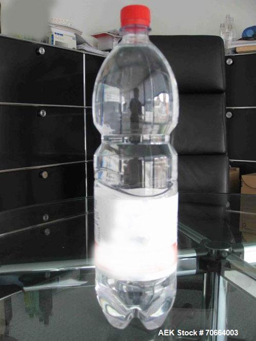 Used-P. E. Futura PET Bottle Labeler