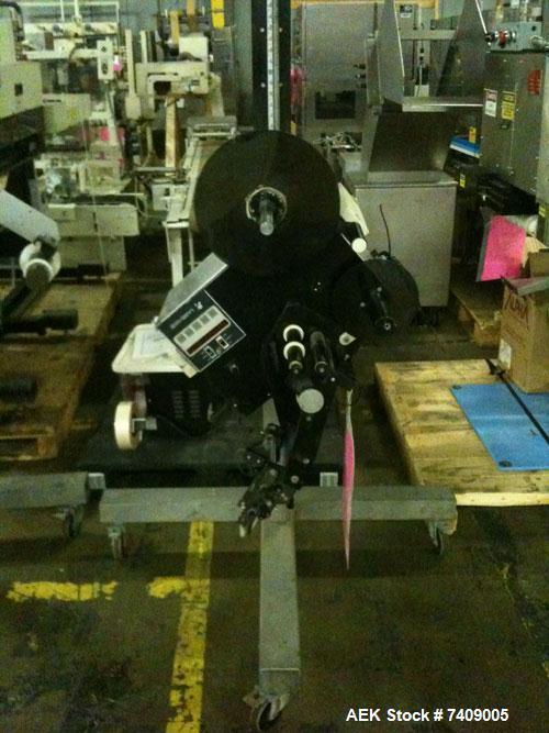 Used- Label-Aire Model 2115M Pressure Sensitive Spot Labeler