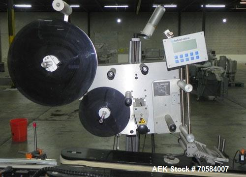 """Used- Label-Aire Model 3115-2000 7"""" Spot Labeler"""