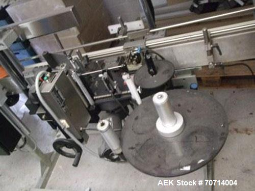 Used-Schaefer Combina Labeller for Self-Adhesive Labels