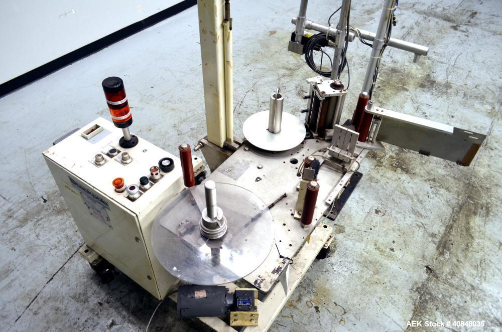 Used- Stackpole Pressure SensitiveLabeler, Model SM900