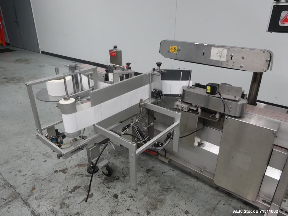 Used- Accraply Model 350PW Pressure Sensitive Labeler