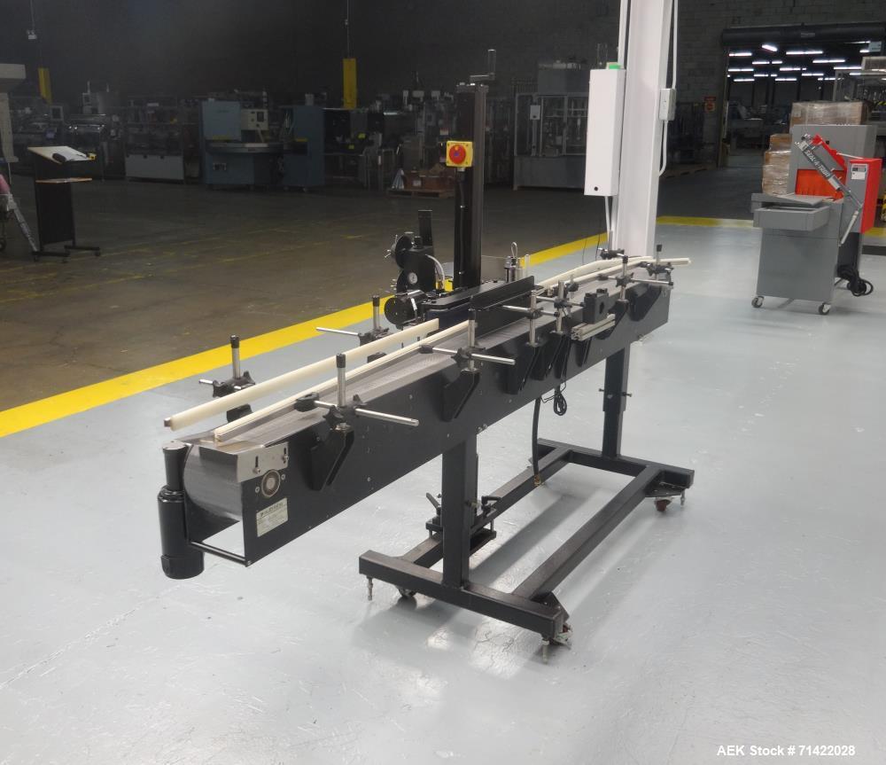 Used- Autolabe Model 620LH Wraparound Pressure Sensitive Labeler
