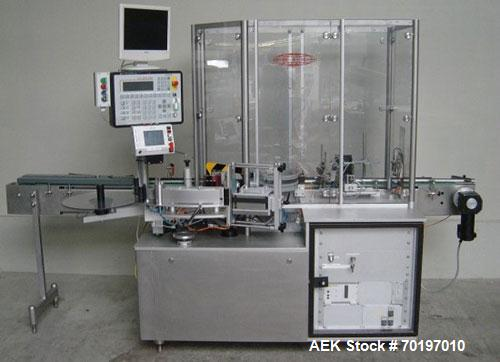 Used-Bausch & Strobel Type ESF 1014 Self-Adhesive Labeling Machine