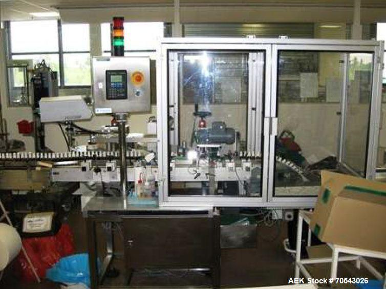 Used-Labeller for Round Vials or Bottles
