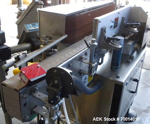 Used- Krones Automatic Pressure Sensitive Labeler, Model AUTOCOL. 3/60/460V