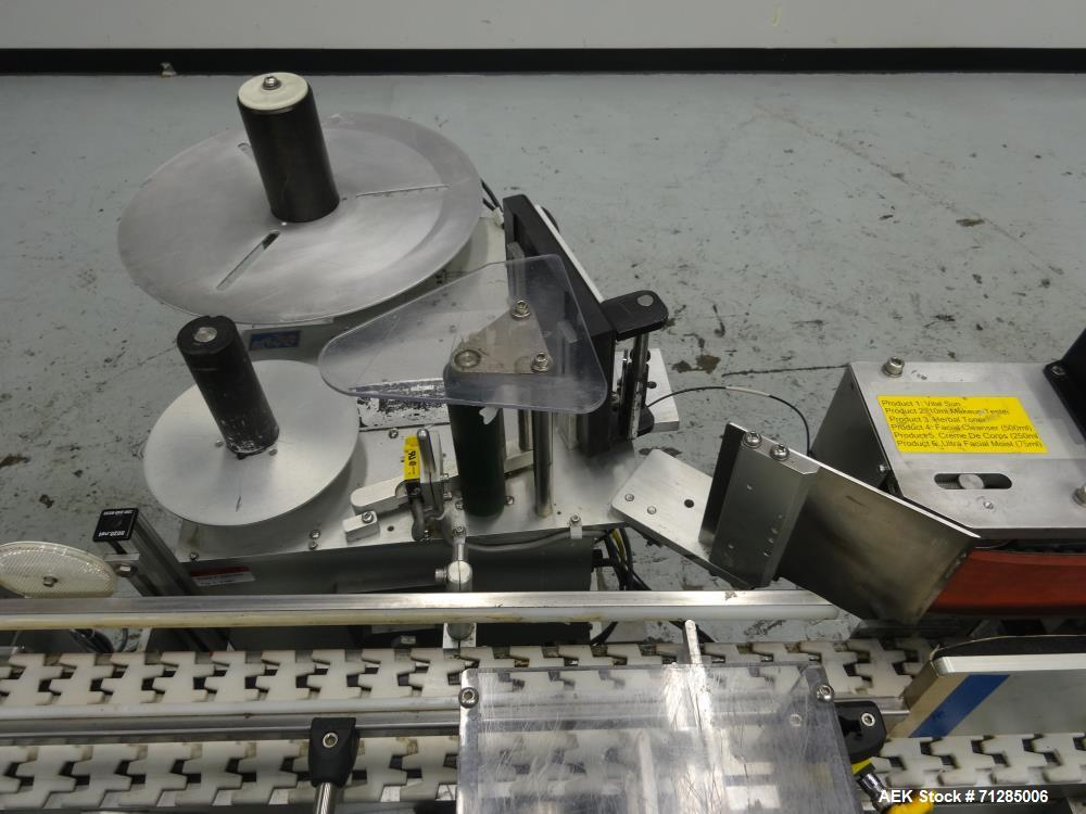 Used- LSI (Labeling Systems Inc) Model 1500 Wraparound Pressure Sensitive Labele