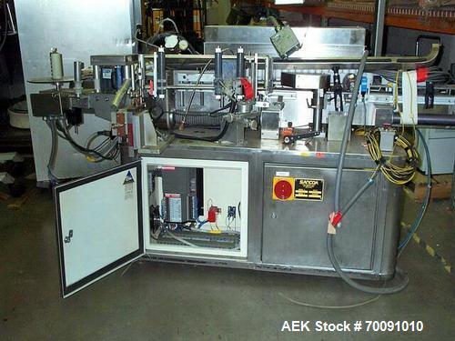 Used-Sancoa High Speed Pressure Sensitive Labeler, Model VR1000L