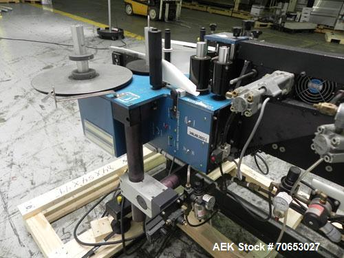 Used- Superior Machine Systems Model Genesis 9500 Pressure Sensitive Corner Wrap