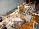 Used- Accraply Model 35PW Pressure Sensitive Labeler. Conveyorized wrap. Min and max label size: max 6