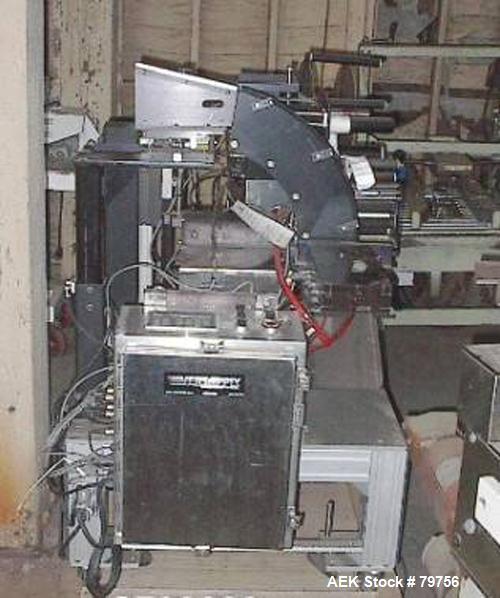 Used- Versapply Pressure Sensitive Label Station