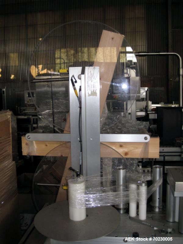 Unused- Sancoa-Weiler Model LA-3000L Wrap Around Labeler
