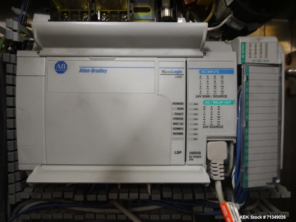 Used- Axon Corporation EZ-100 Tamper Evident Bander Shrink Sleeve Label Applicat