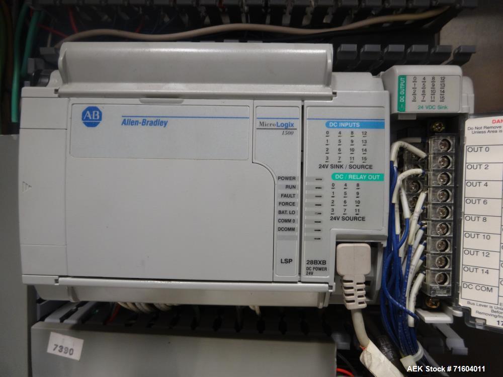 Used- Axon EZ-300 Sleeve Labeler/Tamper Evident Band Applicator