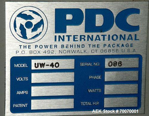 Used- PDC Horizontal Shrink Sleeve Labeler, Model SLH-300ER