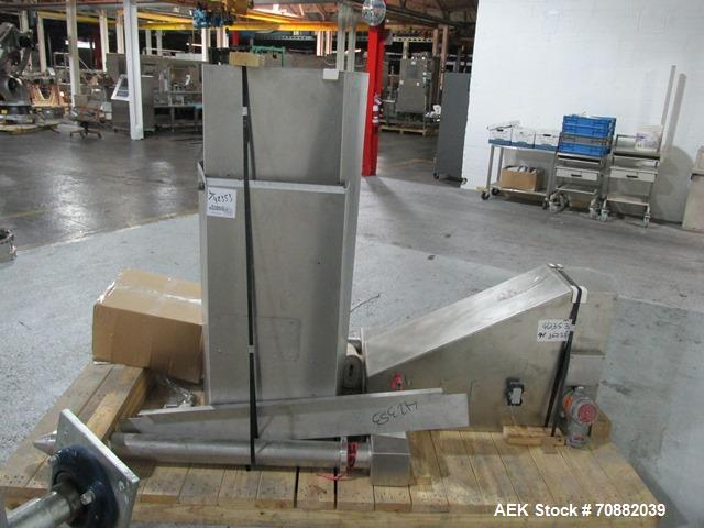 Used- L.B. Bohle Bin Handler, Model HS2000. Stainless steel product contact surfaces, 2000 kg maximum load capacity, approxi...