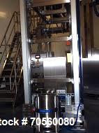 Used- Stainless Steel LB Bohle bin blender, model PM2000