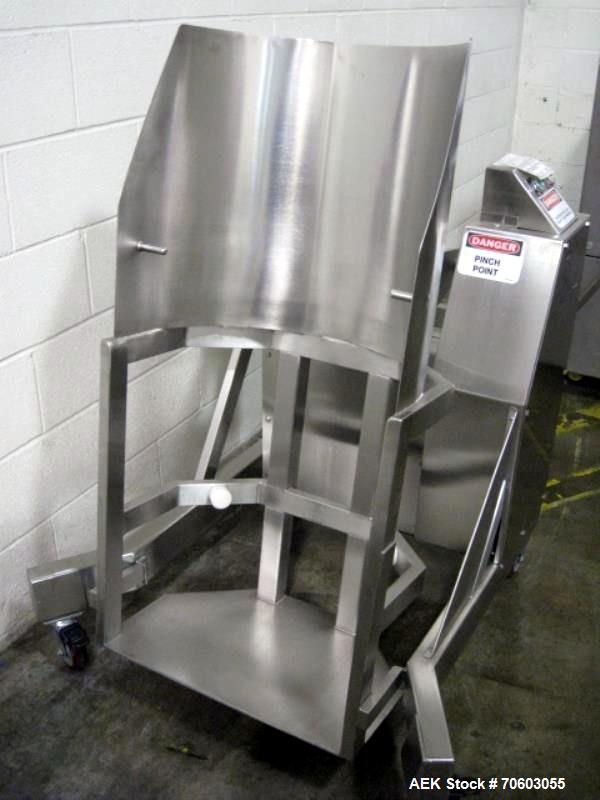 Used- Stainless Steel Creative Designs Drum Lifter