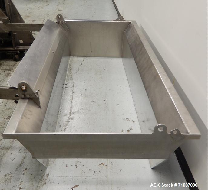 Used-Hi-Tech/FPA 800mm Dough Feeding System.