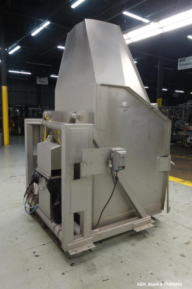 Used- FPEC Food Processing Equipment Company Model HLD725 Tote Dumper