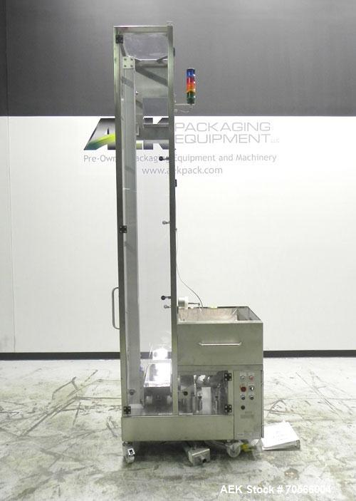 Used- Maschinpex Model Tablift Vertical Tablet Feeder