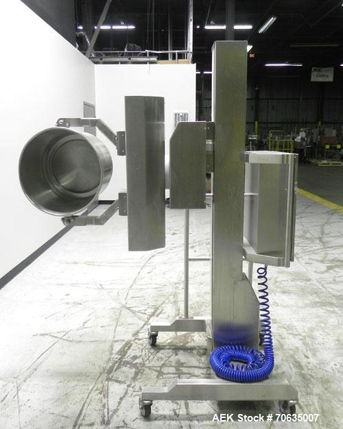 Used- Palamatic Model PALPharmaMove Isolator Drum Lifter