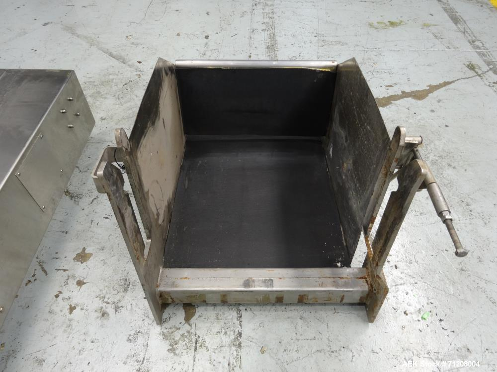Used- Materials Transportation Co Model HLC-2 Stationary Column Dumper