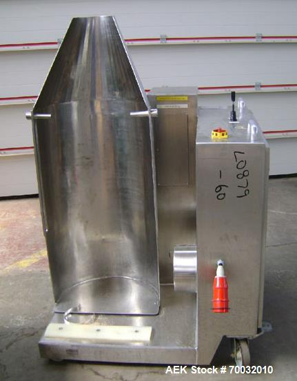 Used- Pharmatech Stainless Steel Drum Lifter, Type SC469