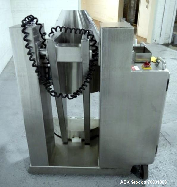 Used- Servolift Barrel Dumper