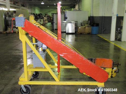Used- Carbon Steel Sterling Fleischman Hydraulic Drum Lift, Model CP95