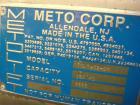 Used- Metolift Barrel Dumper, Model TULM-02-DM, Stainless Steel. Capacity 150 Kg.