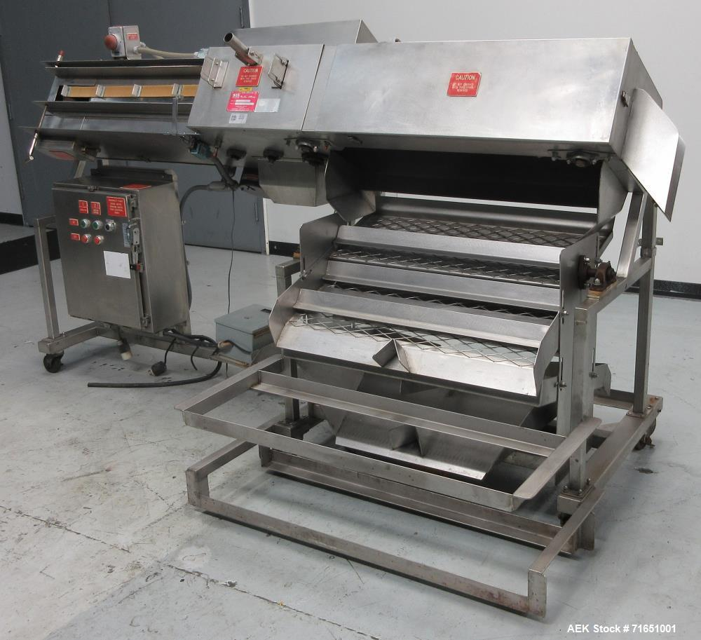 Used Scholz- Industries Model 7010SS Product Reclaimer