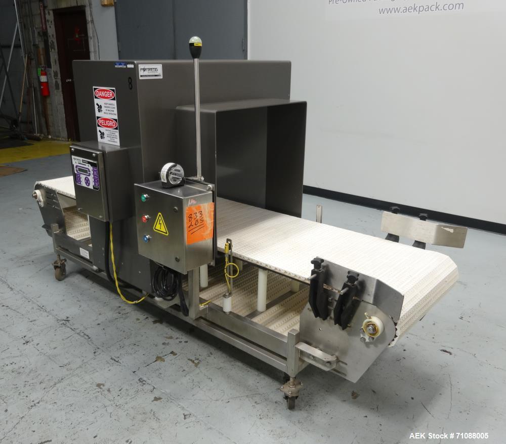 "Used-Fotress Phantom Big Bag Metal Detector. serial #I-17282, 26"" x 24"" aperature. Sensitivity: detection of 1.4 - 2.0 mm st..."