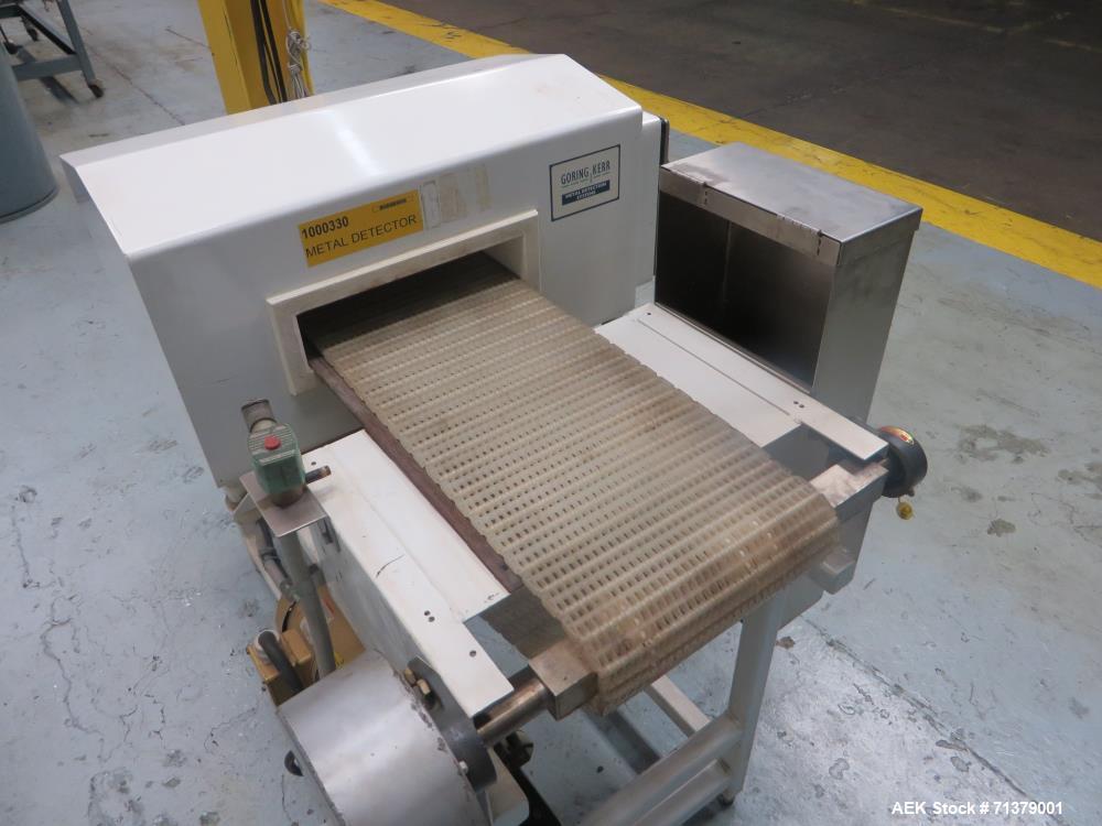 Used- Goring Kerr Model DSP2 Conveyor Mounted Metal Detector