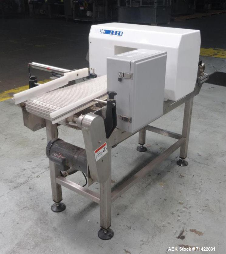 Used- Loma Model Lock Met 30+ Conveyor Metal Detector.