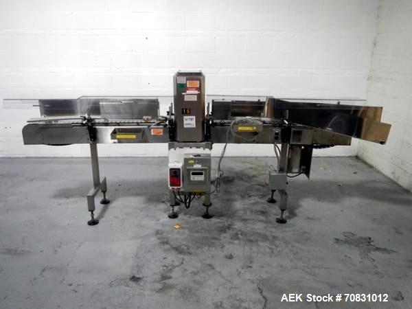 Used- Lock Metal PassThru Metal Detector, model Metalchek 30CXE