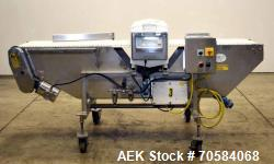 Used- Goring Kerr Metal Detector, Model DPS/2. with sweep arm reject.