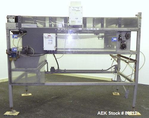 Used- Metalcheck Conveyor System, Model 9/SP/SUPER/288HPBG/M18/115