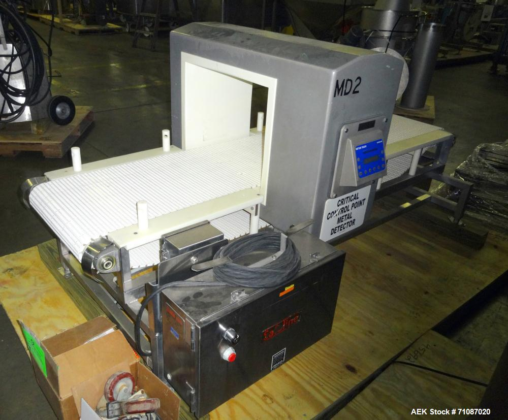 Used- Mettler-Toledo (Safeline) Model SL 2000 Metal Detector